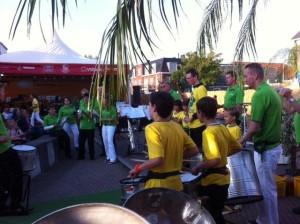Midzomeravondfestival 2014 FunFare - Sambagroep Bovenkerk