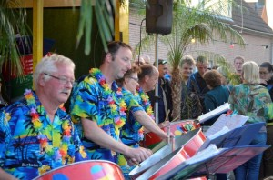 Midzomeravondfestival 2014 FunFare - Steelband Close up