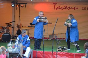 Midzomeravondfestival 2014 FunFare - trio glasbak